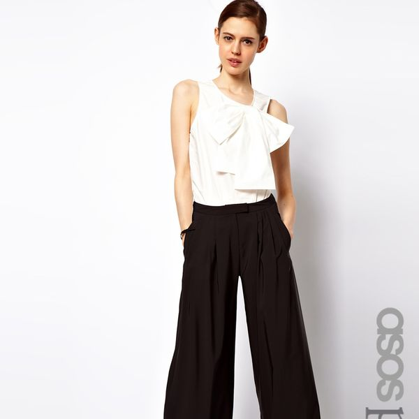 ASOS  Petite Pants in Wide Leg