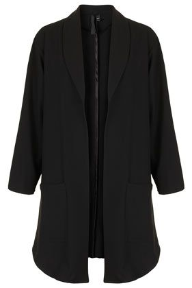 Topshop by Boutique  Crepe Jacket