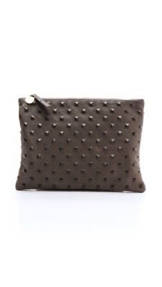 Clare Vivier Clare Vivier Studded Flat Clutch