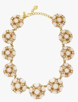 Kate Spade New York Kate Spade New York Belle Fleur Statement Collar Necklace