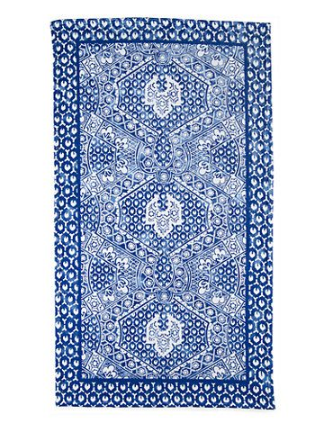 Ralph Lauren Home  Textured Mosaic Beach Towel