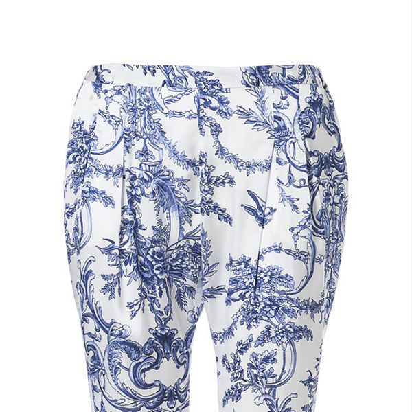 Zara  Printed Trousers