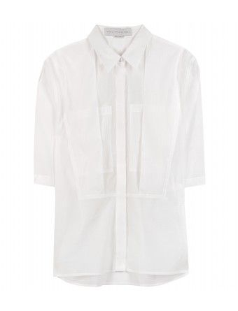 Stella McCartney  Moira Button-Down with Layered Detail