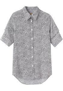 Peter Jensen  Printed Pintuck Shirt