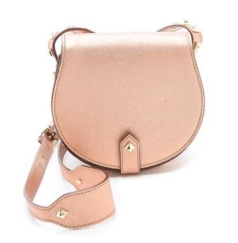 Rebecca Minkoff Skylar Mini Bag in Rose Gold