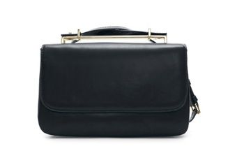 Zara Messenger Bag with Metal Handle