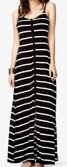 Forever 21 Striped Knit Maxi Dress