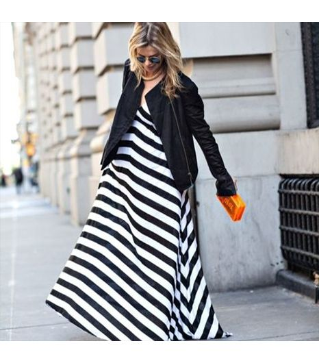 Stephaniceunter is wearing: Helmut Lang jacket, A.L.C. dress, Zara bag.