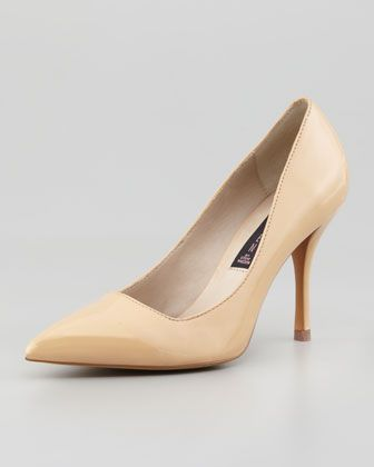 Steven Mikka Patent Point-Toe Pump