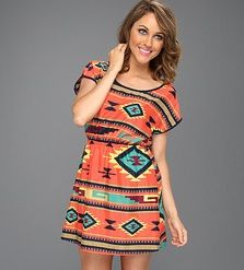 Gabriella Rocha Aztec Print Dress