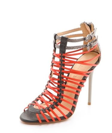 L.A.M.B. Strappy High-heeled Sandals