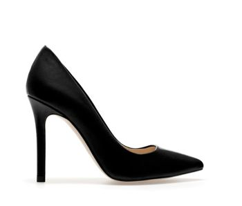Zara Leather Court Shoe