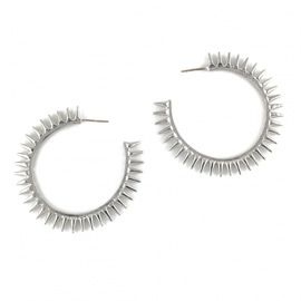 Fallon Fallon Classique Spike Hoop Earrings