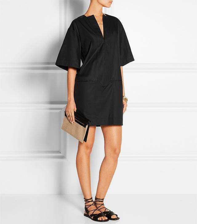Totême Zagora Cotton-Twill Mini Dress