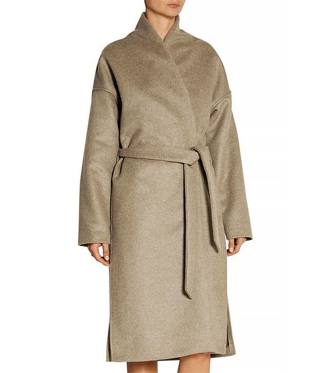 Totême Chelsea Wool-Blend Felt Wrap Coat