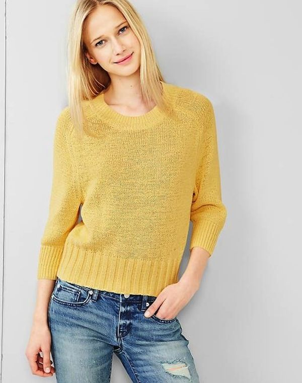 Gap Slouchy Dolman-Sleeve Sweater