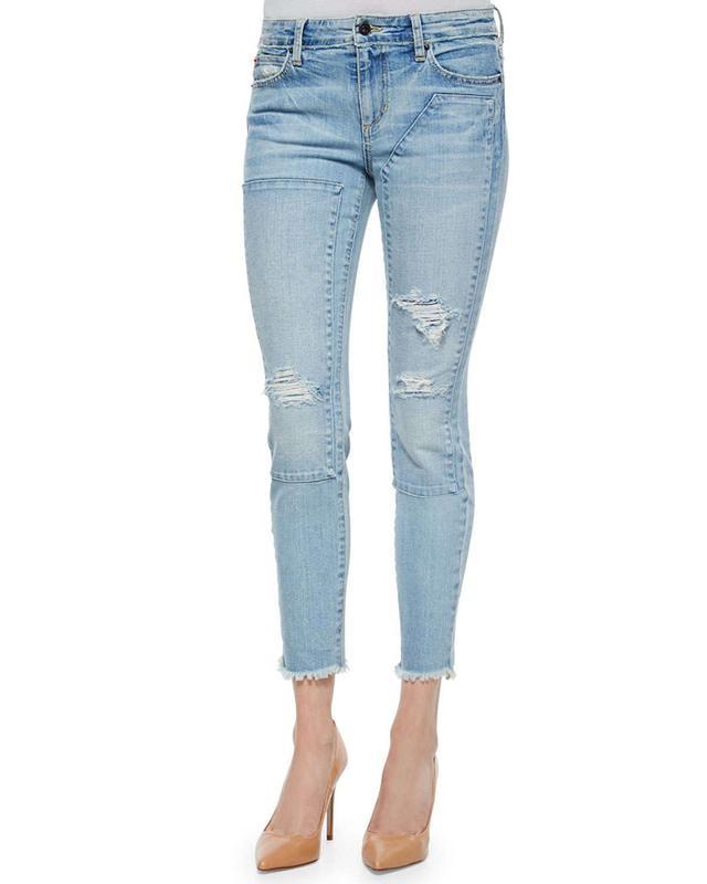 Joe's Jeans Finn Repaired Skinny Jeans