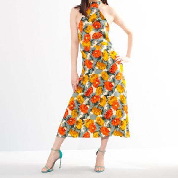 Lindsey Thornburg Julia Halter Maxi Dress