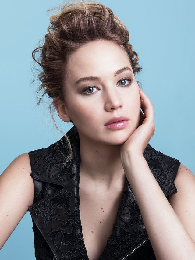 Jennifer Lawrence Smolders in the New Dior Lipstick Ad
