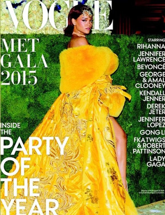 Can You Guess Which Star Landed the Cover of Vogue's Met Gala Issue?