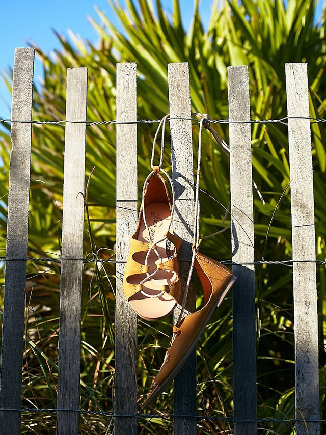 Free People Marrakesh Lace Up Sandals