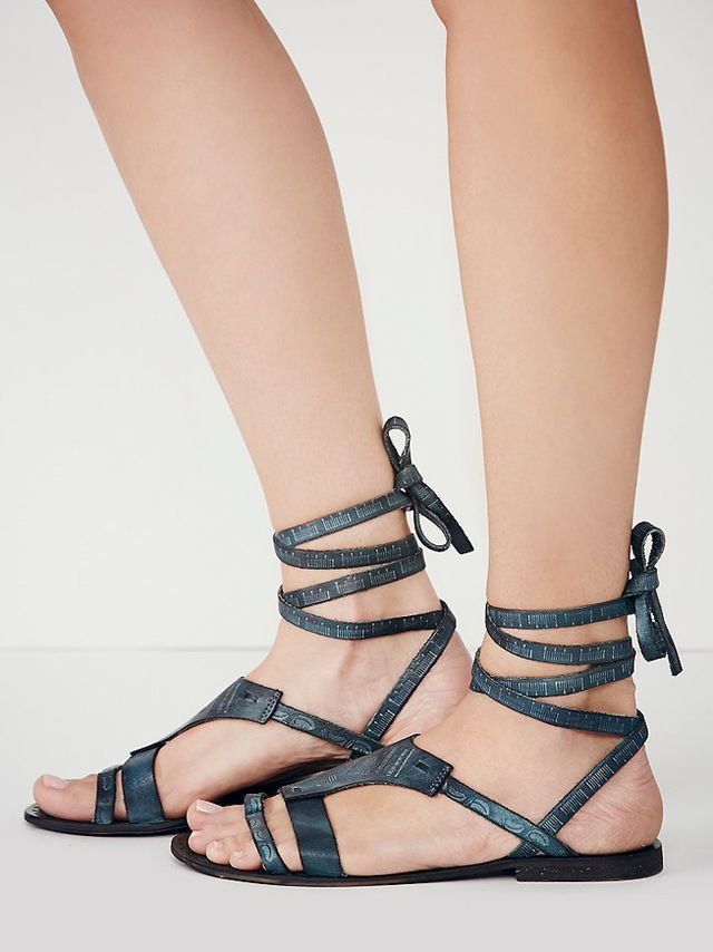 Free People Oliviera Wrap Sandals
