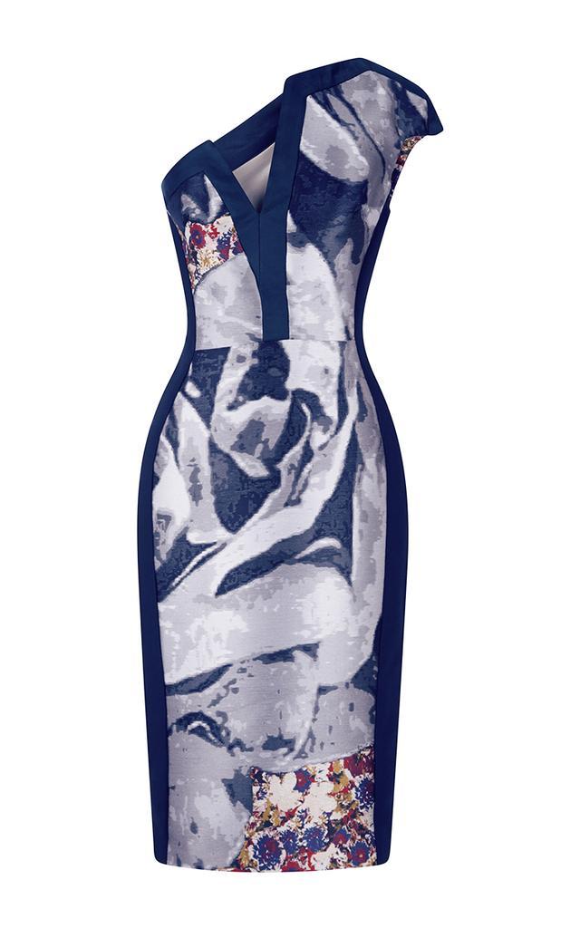 Antonio Berardi Asymmetric Sheath Dress