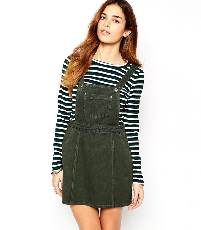 Glamorous Denim Pinafore Dress