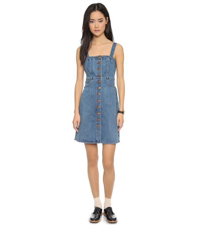 Madewell Denim Overall Dress