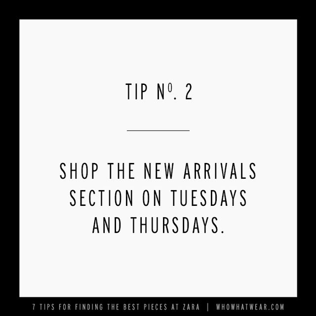 We called around for this insider information and learned new products hit online stores every Tuesday and Thursday. So, if you're hoping to snag the coolest pieces before they sell...