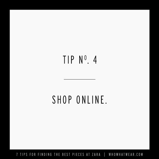 This one is pretty straightforward, but avoid the long lines and hectic dressing rooms at the mall, and shop online. You're way more likely to find what you want online rather than hustling...