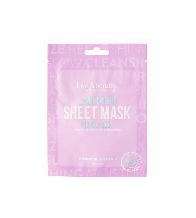 Love & Beauty Lavender Facial Mask