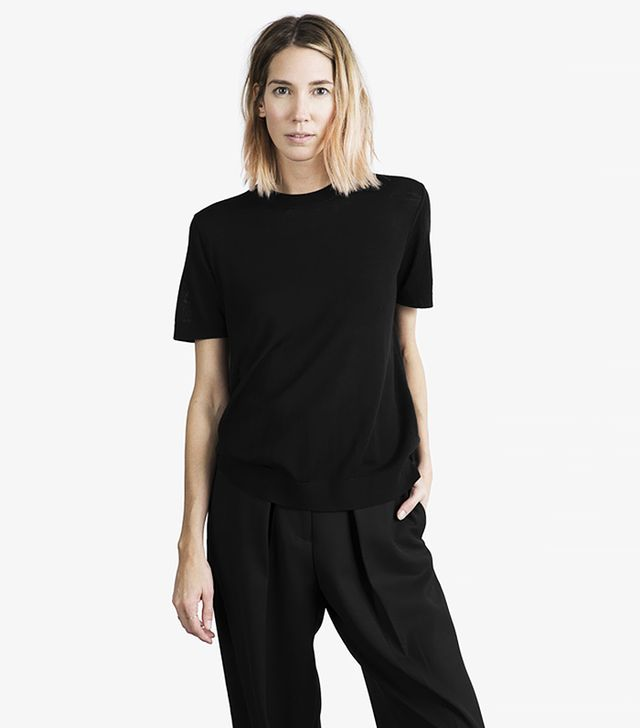 Everlane The Luxe Sweater Short Sleeve
