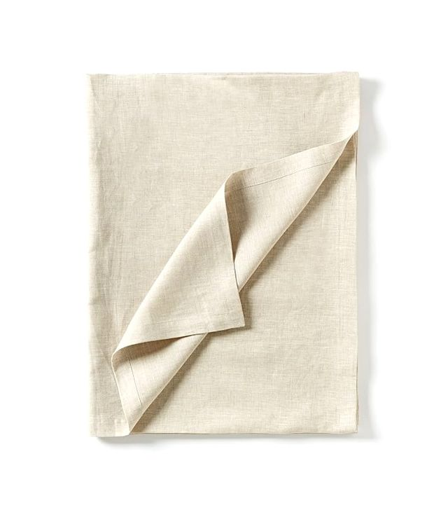 West Elm Belgian Linen Tablecloth