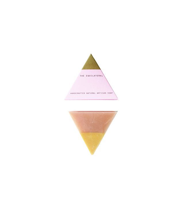 Bar Soap Brooklyn The Equilateral Rose Gold Soap