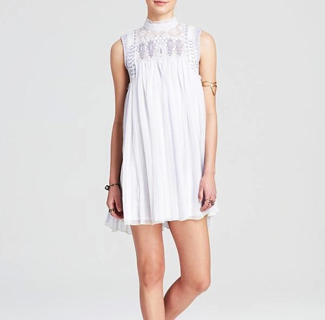 Free People Printed Penny Georgette Babylon Dress