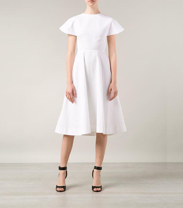 Rosie Assoulin Backless Flared Dress