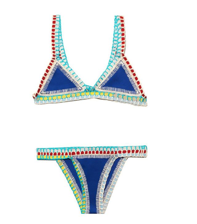 Kiini Crochet-Trim Bikini