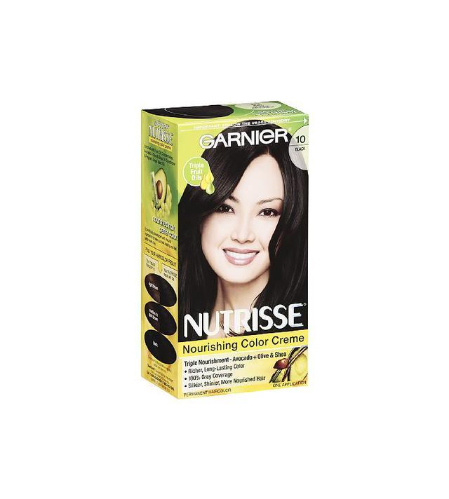 Garnier Nutrisse Permanent Creme Haircolor in Black
