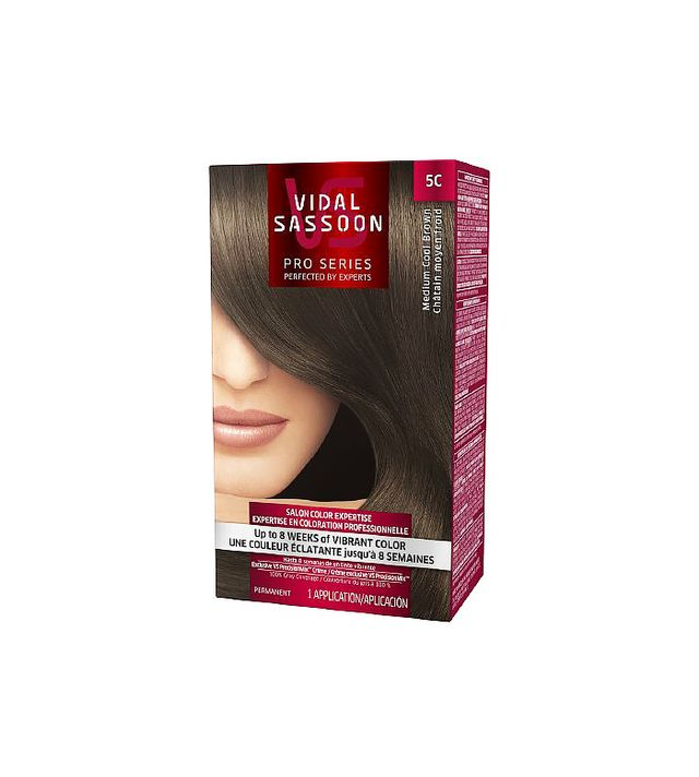 Vidal Sassoon Pro Series Hair Color in Medium Cool Brown