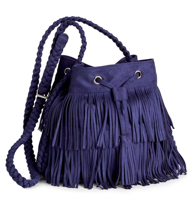 H&M Shoulder Bag With Fringe