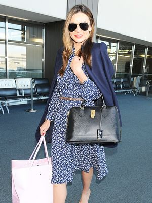 Miranda Kerr's Secret to Looking Polished at the Airport