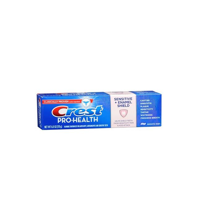 Crest Pro-Health Sensitive + Enamel Shield Fluoride Anticavity Toothpaste