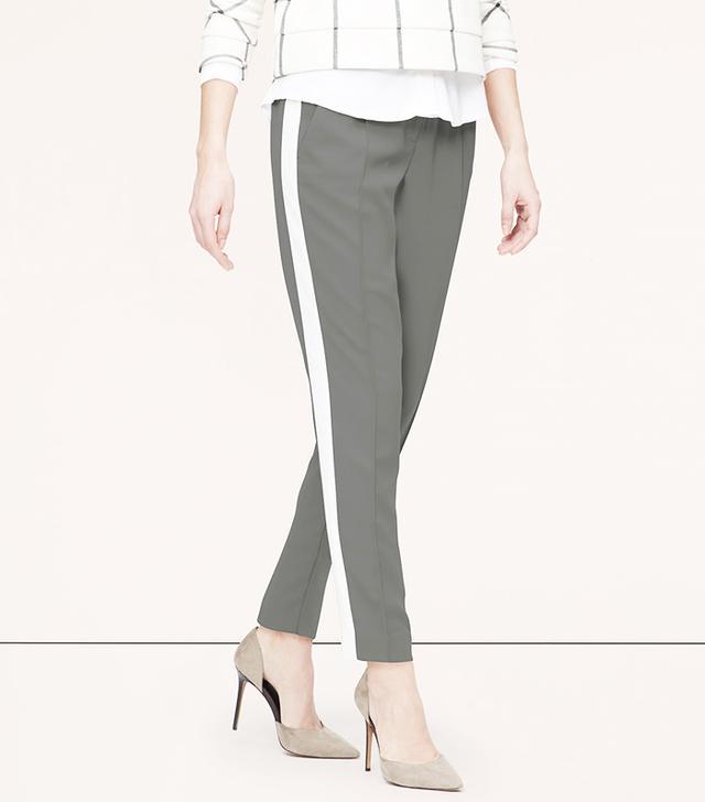 Loft Side-Stripe Fluid Pants