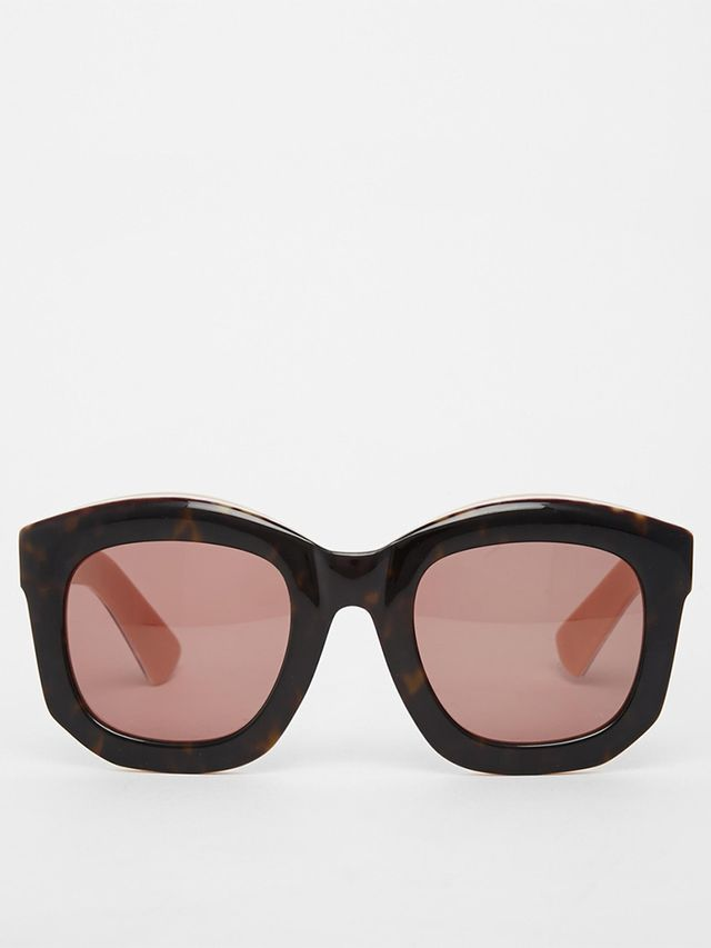 ASOS Handmade Acetate Chunky Retro Sunglasses