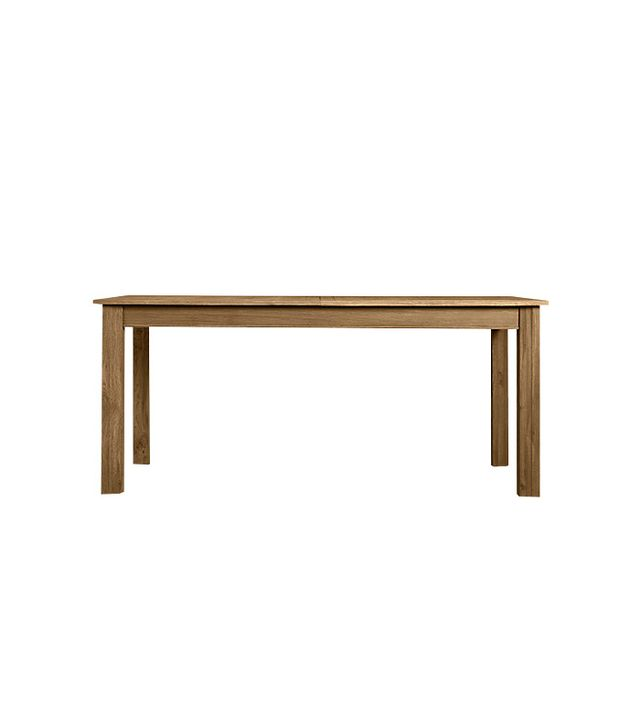 Restoration Hardware Drifted Oak Parsons Extension Dining Table