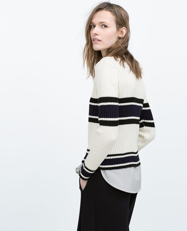 Zara Poplin Sweater
