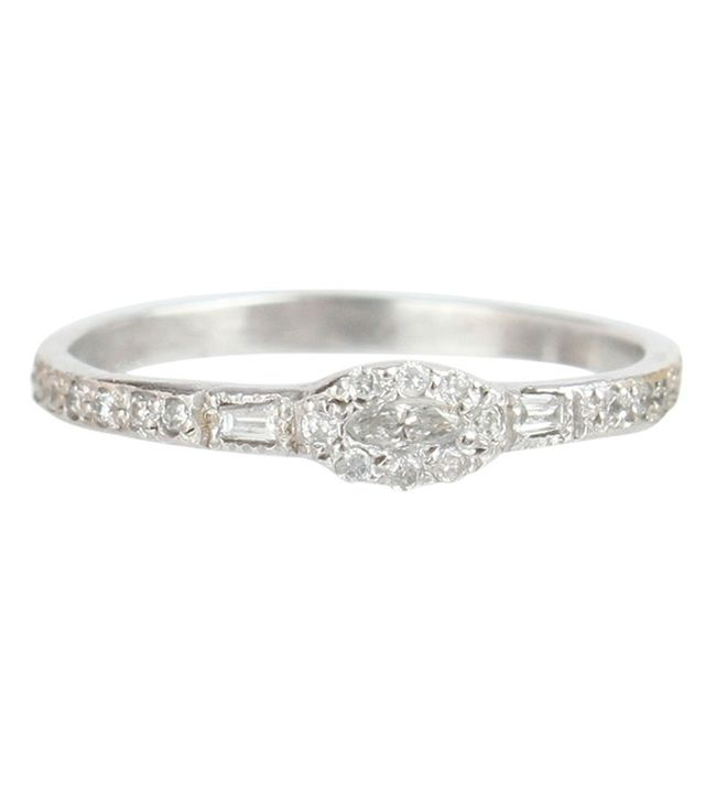 Catbird Anna Karenina Marquise Diamond Ring