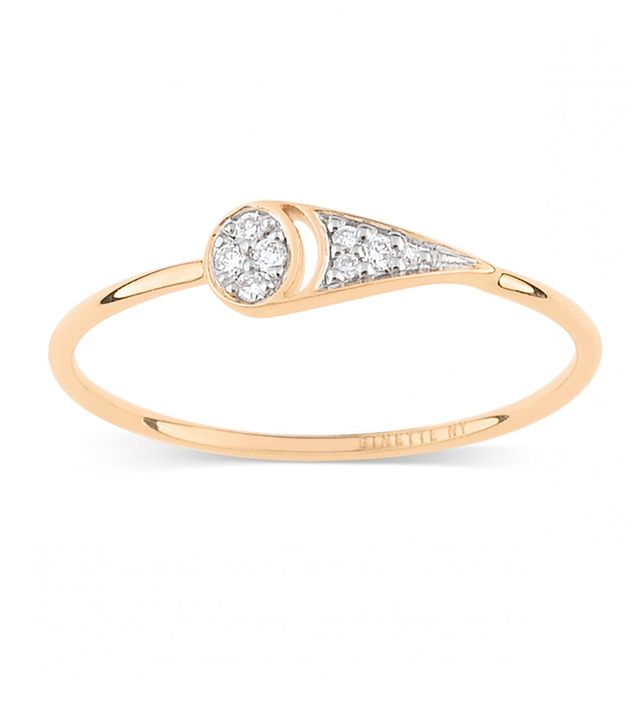 Ginette NY Mrs. Joe Tiny Diamond Ring
