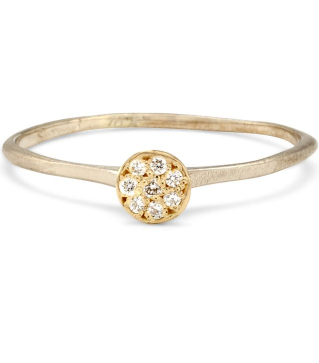 Satomi Kawakita Diamond Disc Ring